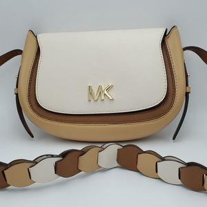 Michael Kors Jolene Small Saddle Messenger Bag